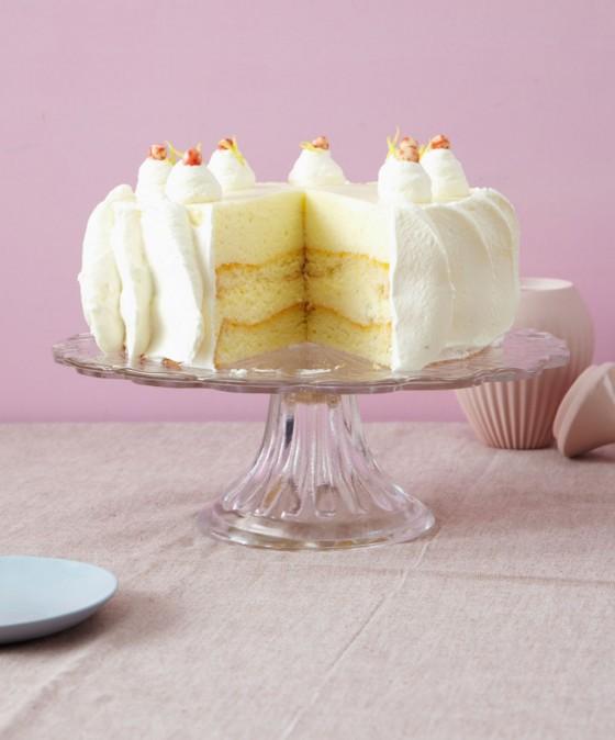 Zitronenmousse-Torte