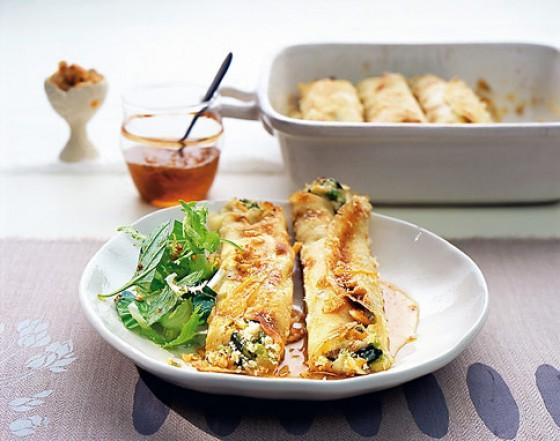 Zucchini-Crespelle
