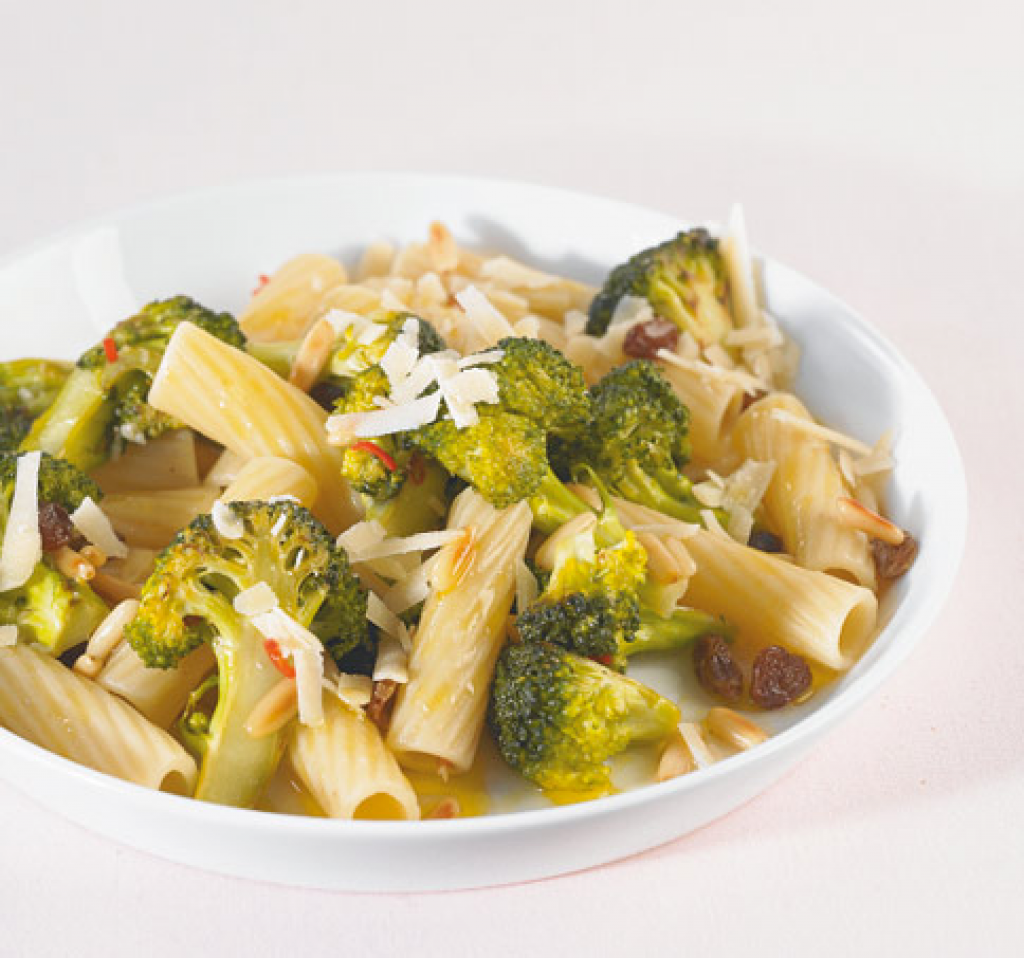 brokkoli pasta rezept essen und trinken. Black Bedroom Furniture Sets. Home Design Ideas