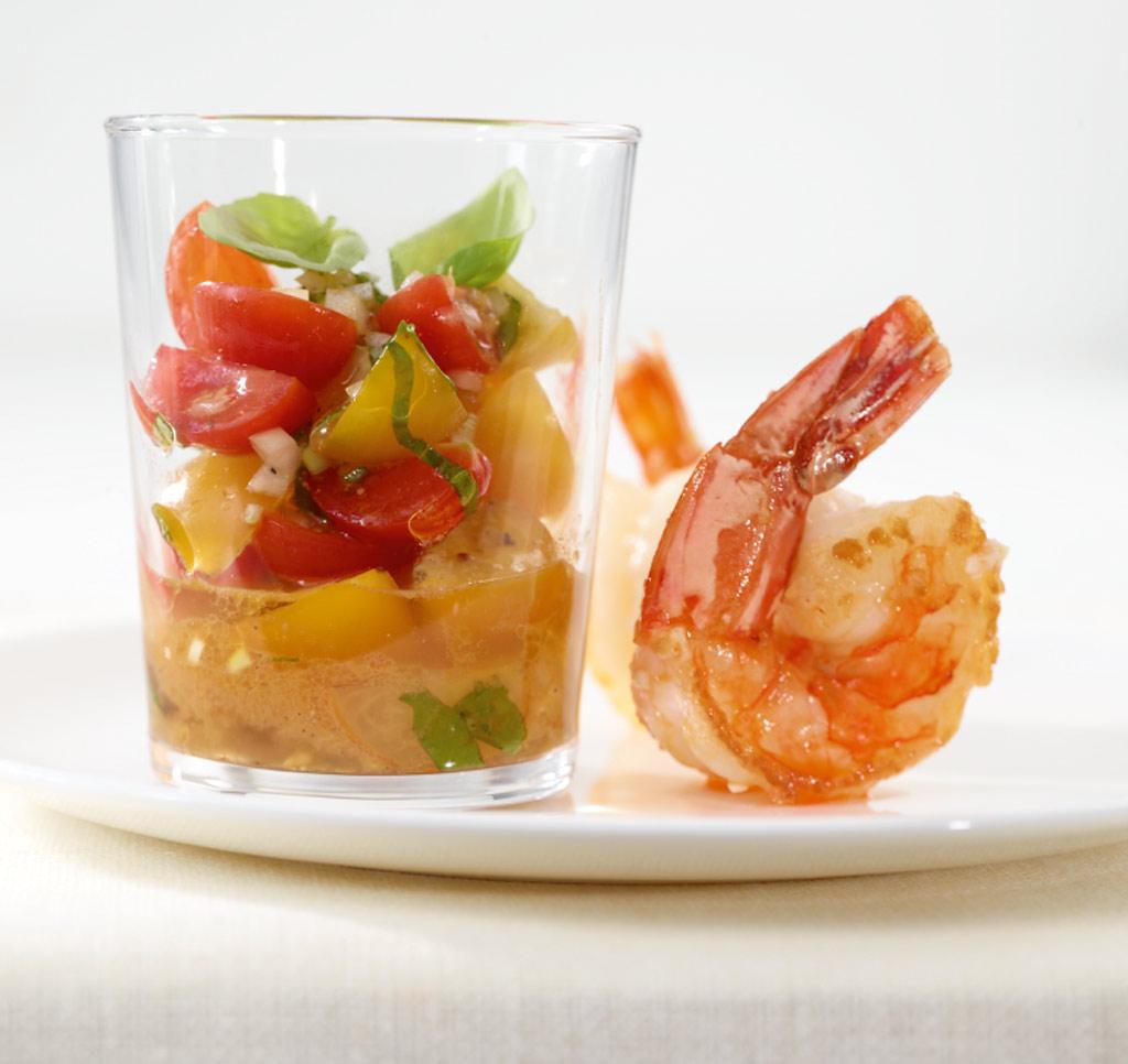 bunte tomaten salsa rezept essen und trinken. Black Bedroom Furniture Sets. Home Design Ideas