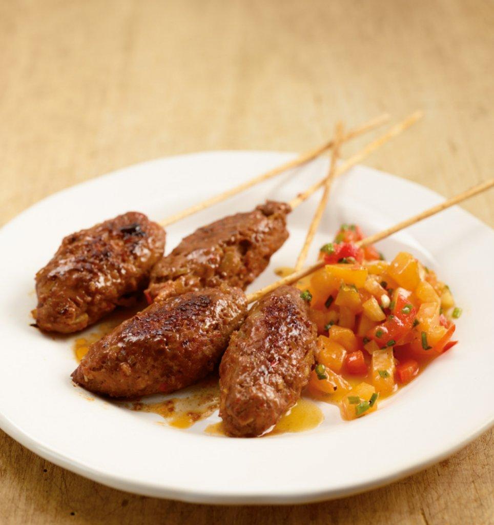 Schnelle leichte kuche mit fleisch