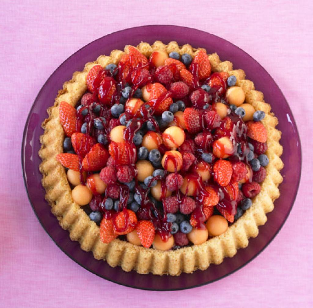 Gemischter Obstkuchen ...