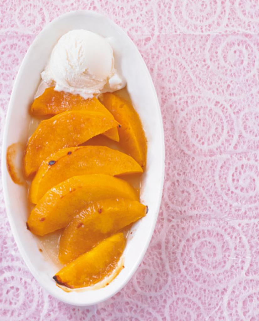gratinierte mango rezept essen und trinken. Black Bedroom Furniture Sets. Home Design Ideas