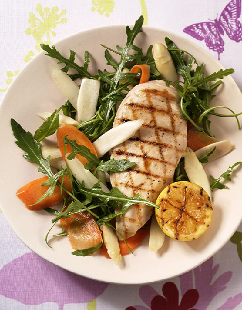 Rezept salat mit huhn