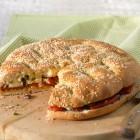 Fladenbrot-Sandwich