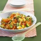 Möhren-Avocado-Salat