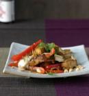 Teriyaki-Tofu mit Chicorée