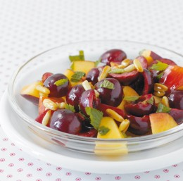 Kirsch-Nektarinen-Salat