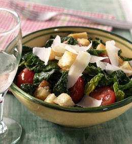 Spinat-Brot-Salat