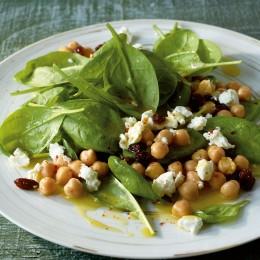 Arabischer Spinatsalat