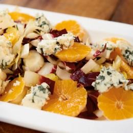 Chicorée-Salat mit Clementinen