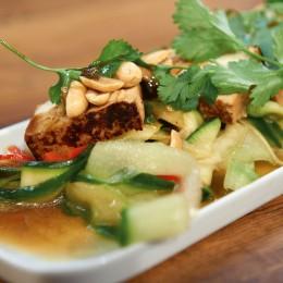 Marinierter Tofu