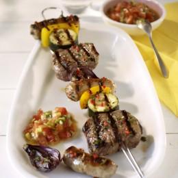 Nürnberger Steak-Spieße