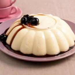 Orangen-Mandel-Pudding