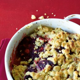 Rote-Bete-Crumble