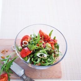Tomatensalat mit Rauke