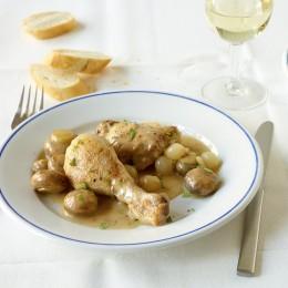 Weißwein-Hähnchen