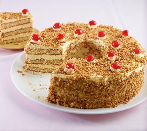 Torte backen für omas kaffeeklatsch 1 essen trinken