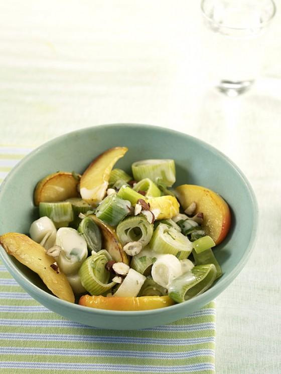 Apfel-Lauch-Gemüse