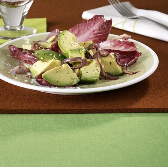 Avocado-Chicorée-Salat