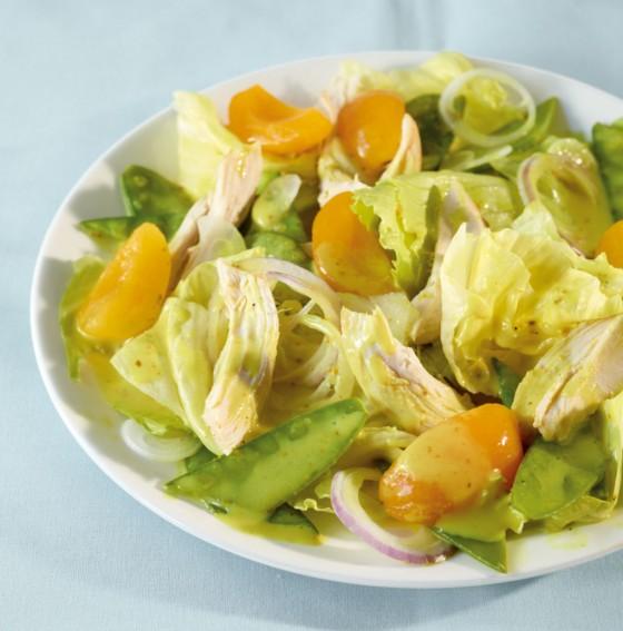 Curry-Hähnchen-Salat