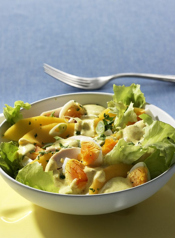 Curry-Eiersalat