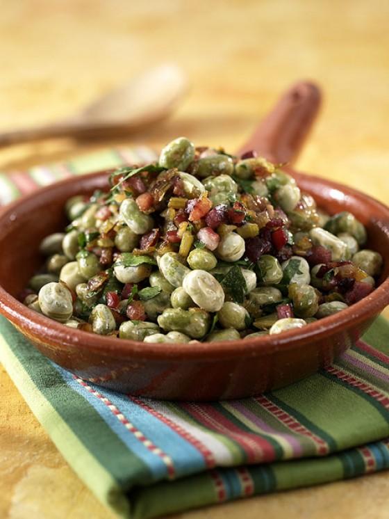 Dicke-Bohnen-Gemüse