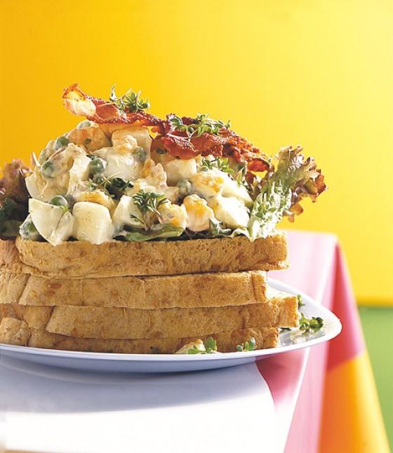 Eiersalat-Sandwich