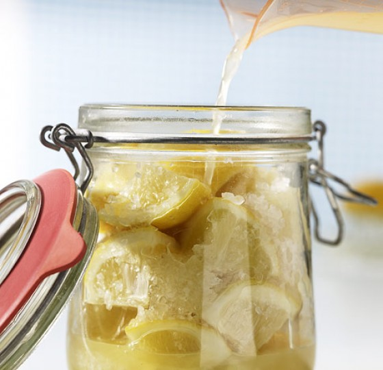 Eingelegte Zitronen