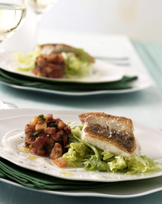 Fisch im Salat