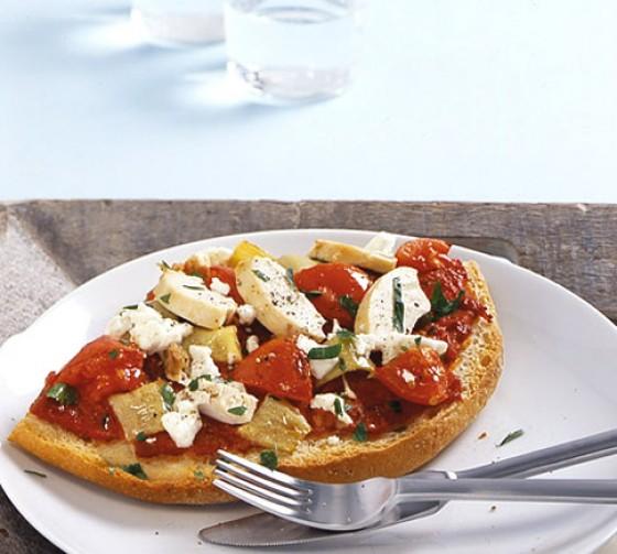 Fladenbrot-Pizza