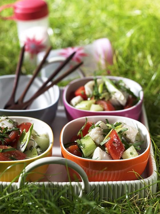 Gazpacho-Fisch-Salat