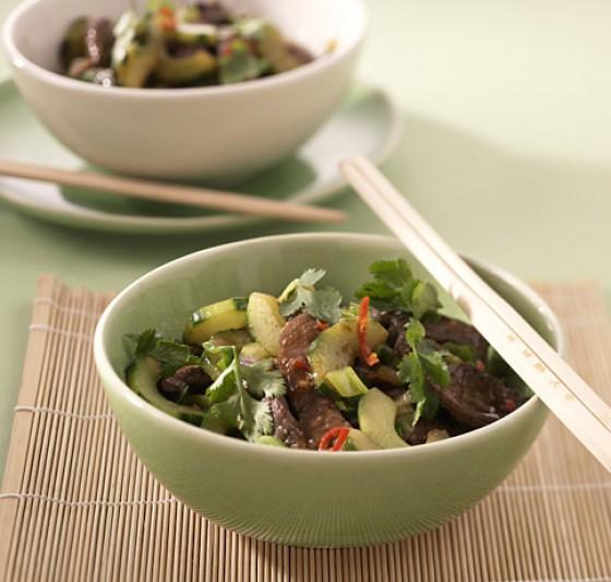 Geschmorte Salatgurke