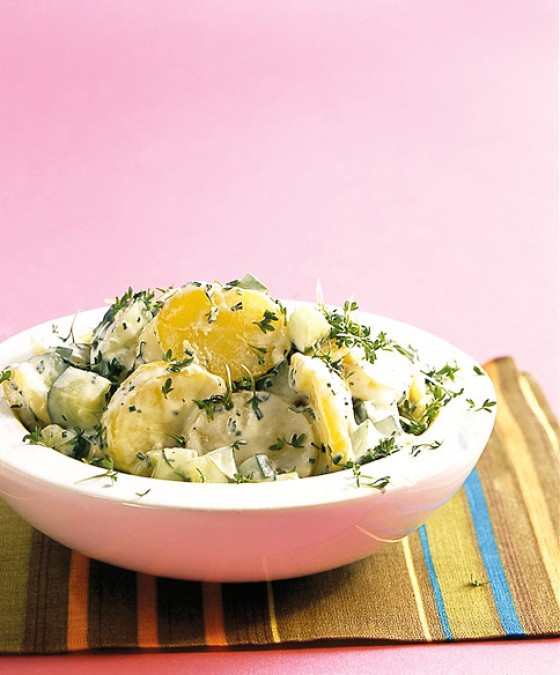 Gurken-Kartoffel-Salat