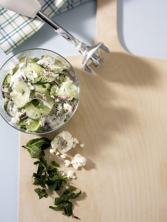 Gurken-Minze-Salat