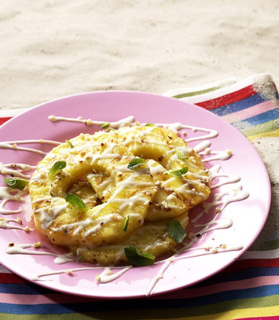Honig-Ananas