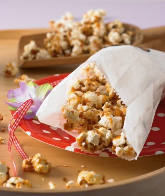 Karamell-Mandel-Popcorn