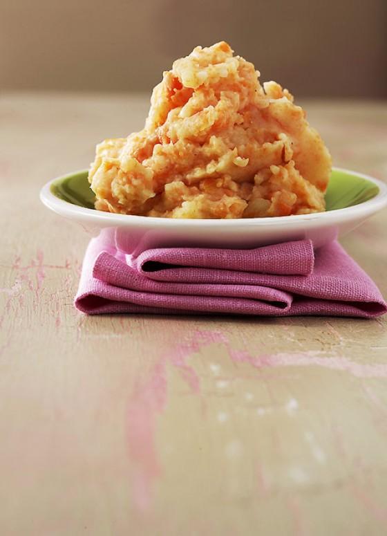 Kartoffel-Möhren-Püree