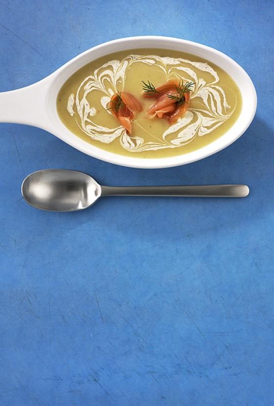 Kartoffel-Senf-Suppe