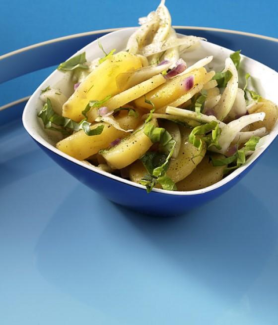 Kartoffelsalat mit Fenchel