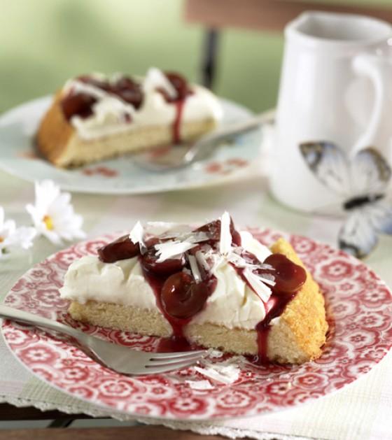 Kirsch-Sahnekuchen