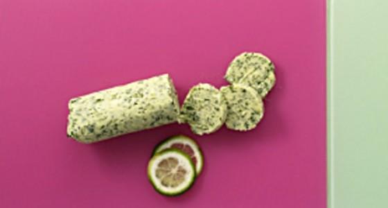 Koriander-Limetten-Butter