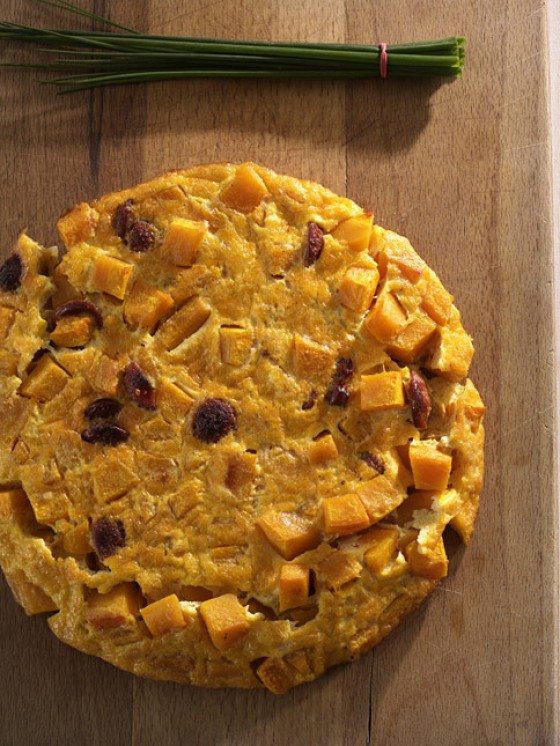Kürbis-Tortilla