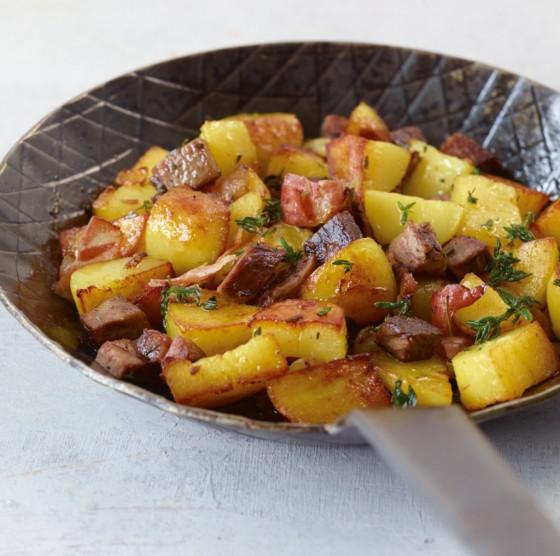 Lamm-Kartoffel-Gröstl