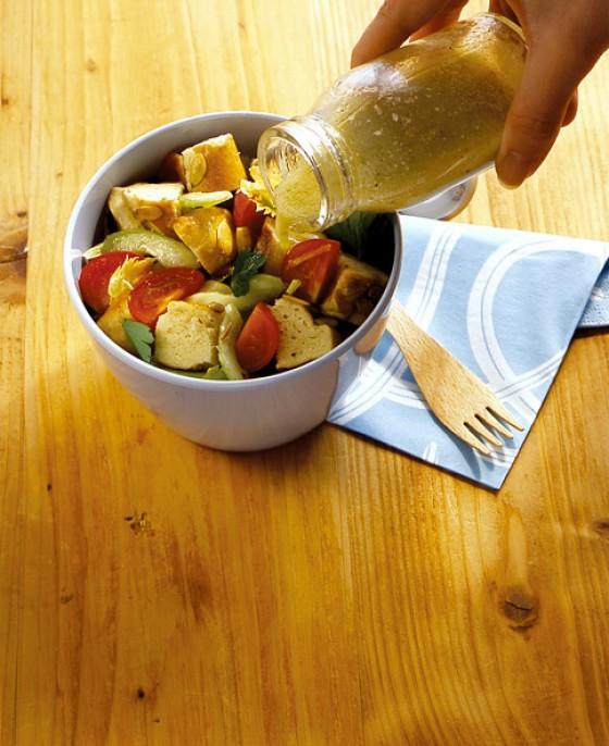 Laugenstangen-Salat