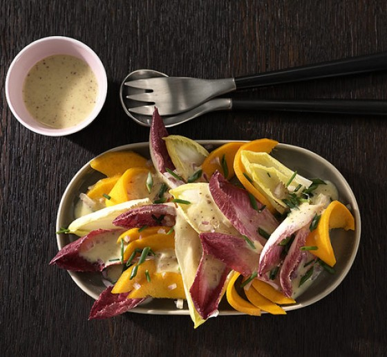 Mango-Chicorée-Salat