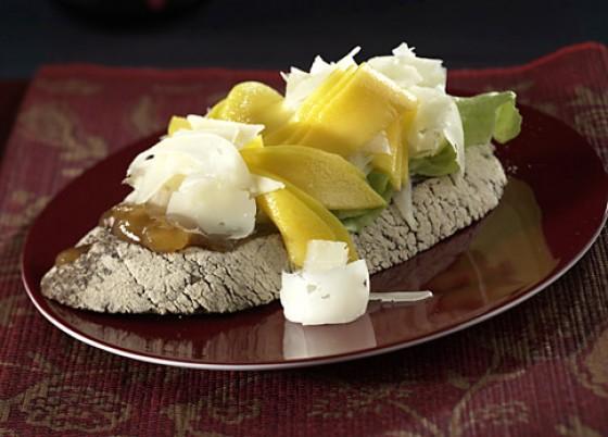 Mango-Manchego-Brot