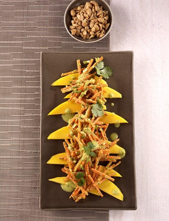 Mango-Möhren-Salat