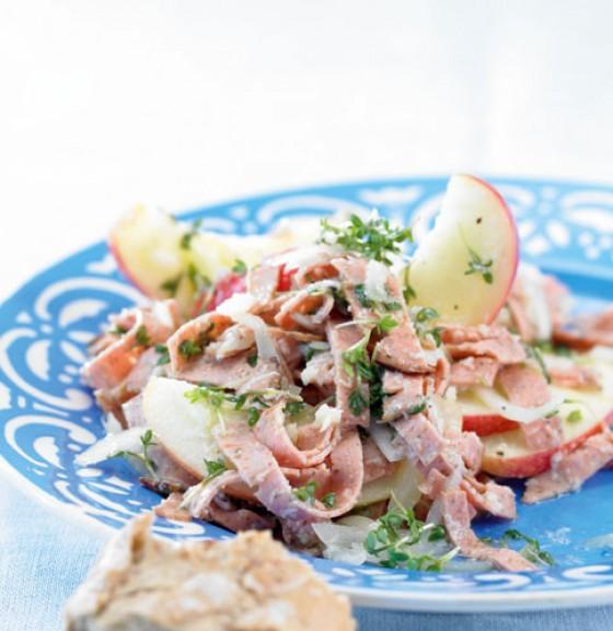 Meerrettich-Apfel-Salat
