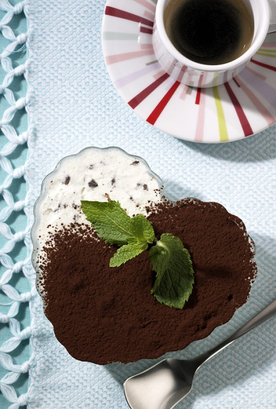 Minz-Schoko-Eis